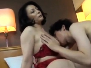 Chinese mature moms boning youthful dudes rock hard and deep