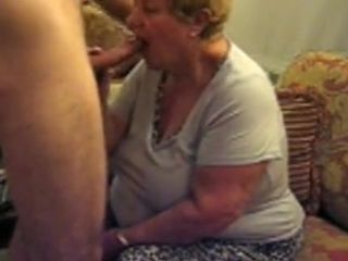 Laughable Homemade tome relative to Grannies, Blowjob scenes