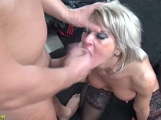 Harsh blow in all her fuck holes