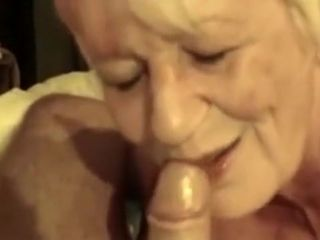 Awesome Homemade sheet give Grannies, Blowjob scenes