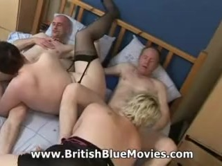 Brit wifey exchanging Swingers