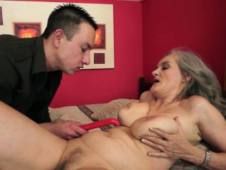 Prex granny screwed with the addition of squirted in jizz