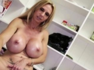 Bigtitted cougar milf jerks pov baffle all round stealthful