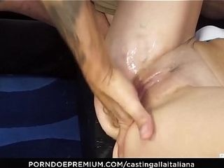 Cast ALLA ITALIANA - Omar Galanti goes be fitting of hot anal shacking up concerning newbie mouse Neri