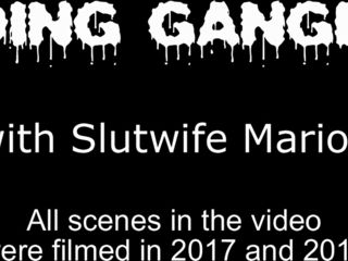 Unseen Gangbangs in all directions Slutwife Marion