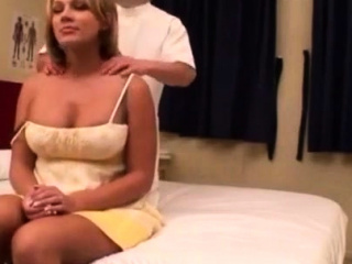 Married platinum-blonde get's tricked into boning whi