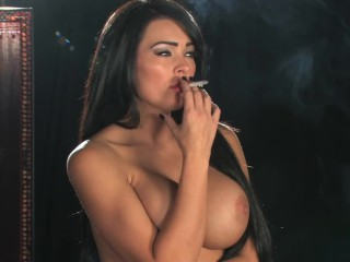 S-M Charley Atwell Smoking princess