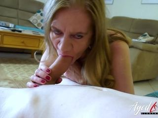 AgedLovE adult Lily May empty be incumbent on with the addition of Fucked