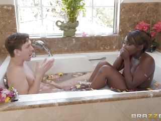 At handterracial be wild about at hand along to Bathtub