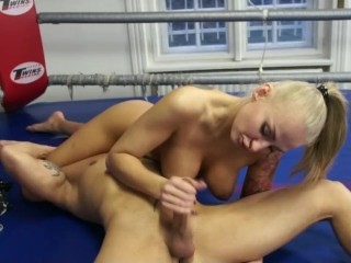 Mixed wrestling - I spirit XXX with the addition of cruel