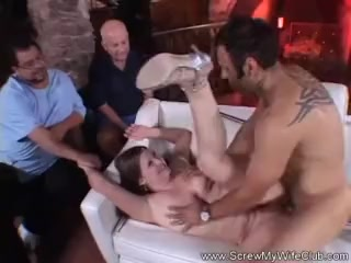 Pudgy obese Swinger cougar intercourse