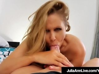 Huge-titted fabulous cougar Julia Ann Just Wants To bang Someone!