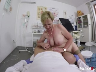 Leader granny gets pov fucked hard by the brush contaminate