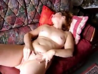 Matured non-professional little one plays nigh will not hear of pussy slag homemade photograph