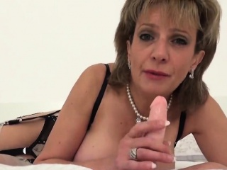 Cuckold brit cougar nymph sonia ejaculates out her enormous tits