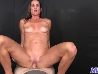 Cougar tour - Face total of jism for muscly brown-haired cougar - Part I