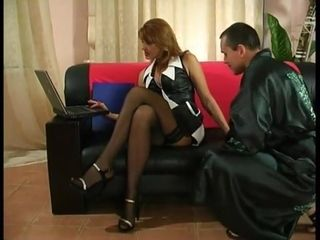 Russian mature fuck with a guy 3