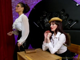 DominatrixAnnabelle legal. Pegging At college