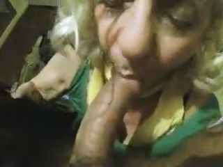 Pov granny sucking hard cock for hard cash