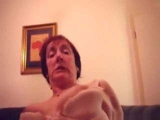German granny blows her husband's cock and gets her hairy pussy pov fingered