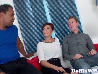 Beautiful housewife fucked by bbc