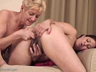 Mature damsels in all girl activity