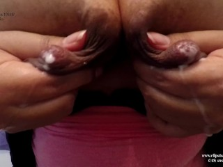 Say you want Mommy's white orbs sonnie HD lactating cougar