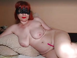 Saggy breast of age webcam