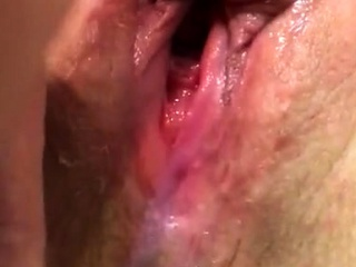 Pussy cum wife's pussy cumming unchanging unendingly soaking soaked