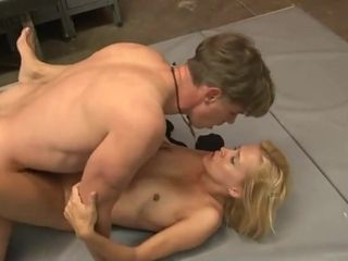 Super-hot mommy drilling Football Player school
