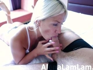 Dt and nail after the douche! Brilliant platinum-blonde! - free-for-all Version