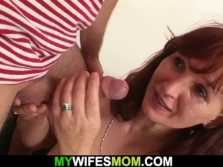 Aged gfs mom satisfies her spouse