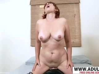 Mature Mother-In-Law Calliste pounds juicy super-hot Step stepson