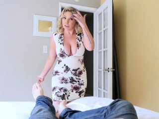 My lush cougar step-mother astonished me with a oral