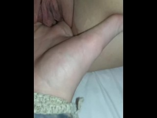 Soles and make-out while frigging wifey