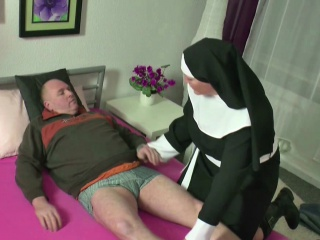 Gersuppliant MILF Nun charge from to exotic grey suppliant