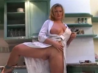 Lovely beamy upfront breast MILF