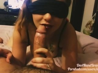 Over flowing internal cumshot for Brandy after super-sexy underwear and oral pleasure!
