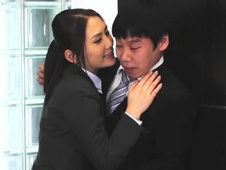 Super-naughty chinese model in epic HD, Office JAV vid