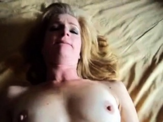 Wifey plows and takes ginormous facial cumshot