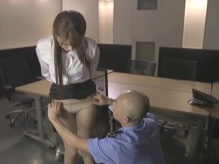Exotic asian girl in jaw-dropping HD, Office JAV movie