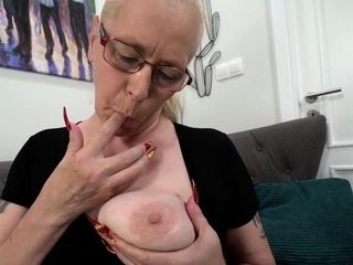 Creampied grandmother nailed