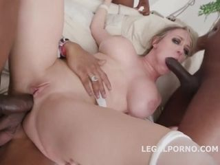Miss Dee gets all of her crevasses ravaged rock hard and deep