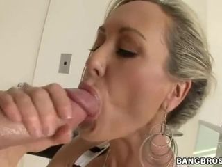 Immense arse cougar Brandi enjoy gets penetrated