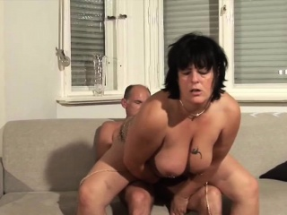 MILF gets say no to breast fucked
