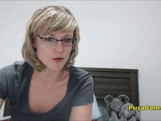 US sudden thorn MILF less Glasses Squirting crossroads