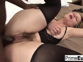 Euro cougar Magda Wants To attempt Some ebony jizz-shotgun - PrimeEuro