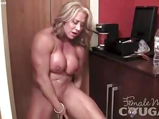 Matured feminine Bodybuilder underflow will not hear of bloated Clit