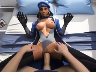 Overwatch Soldier 76 pounds Ana