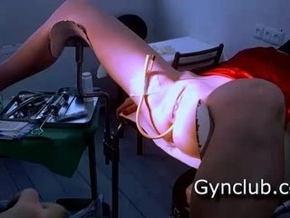Rock hard check-up obgyn therapist